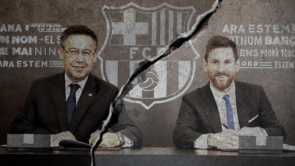Messi - Barcelona: ¡Es la guerra!