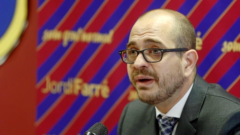 Jordi Farré, en las elecciones de 2015.
