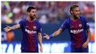 Messi y Neymar, con el Barcelona.