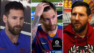 """Messi ya lo avisaba: """"La cláusula no es nada"""", """"me gustaría volver con Pep..."""""""