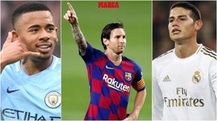Gabriel Jesus como recambio de Suárez, James y el Everton, ¿y Messi?...