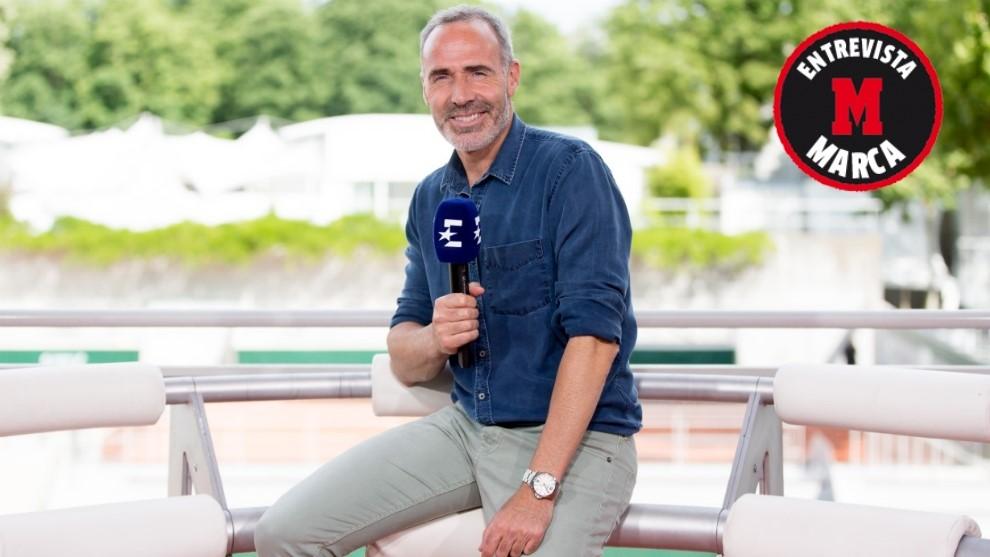 Corretja, comentarista de Eurosport