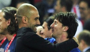 Guardiola y Messi, en una imagen de 2012.