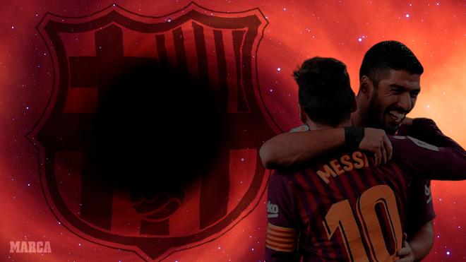 Un agujero negro si se van Lionel Messi y Luis Suárez.