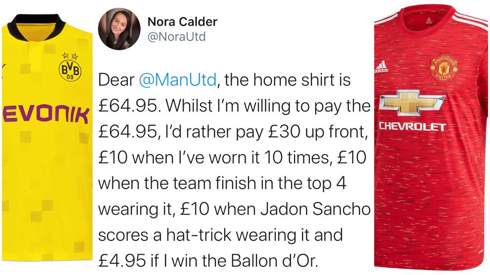 El mercado de fichajes y la crítica irónica más viral sobre el posible pago del Manchester United por Jadon Sancho