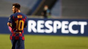 Leo Messi, tras el 2-8 del Bayern de Múnich al Barcelona en cuartos...