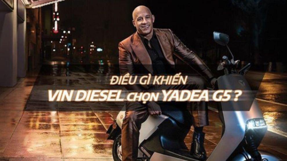 Ni Fast, ni Furious: el nuevo vehículo de Vin Diesel es... una scooter eléctrica
