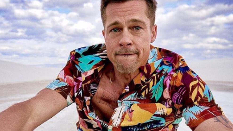 Brad Pitt aparece en público con su nueva novia, la modelo alemana...