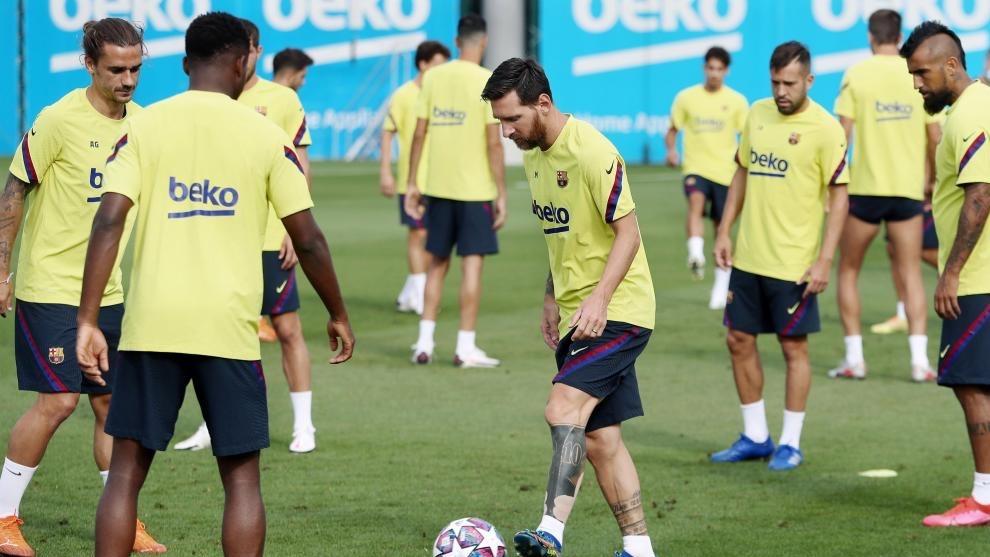 ¿Le conviene a Messi volver a los entrenamientos?