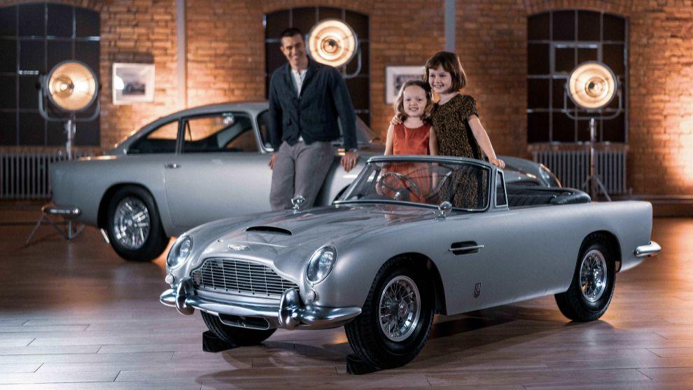El Aston Martin DB5... ahora en talla Junior para tu pequeño James Bond