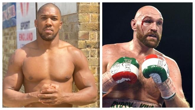 Anthony Joshua y Tyson Fury.