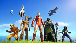 Fortnite lanza una actualización con personajes de Marvel