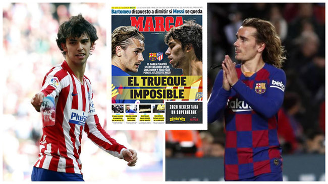 El plan de Bartomeu para salir de la crisis antes de lo de Messi: ¡Griezmann por Joao!