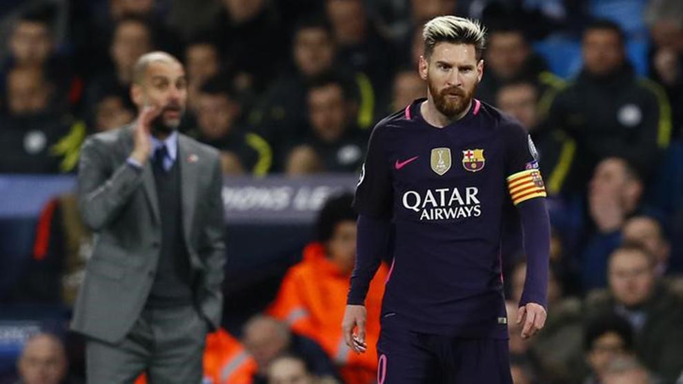 Guardiola y Messi se podrían reencontrar.
