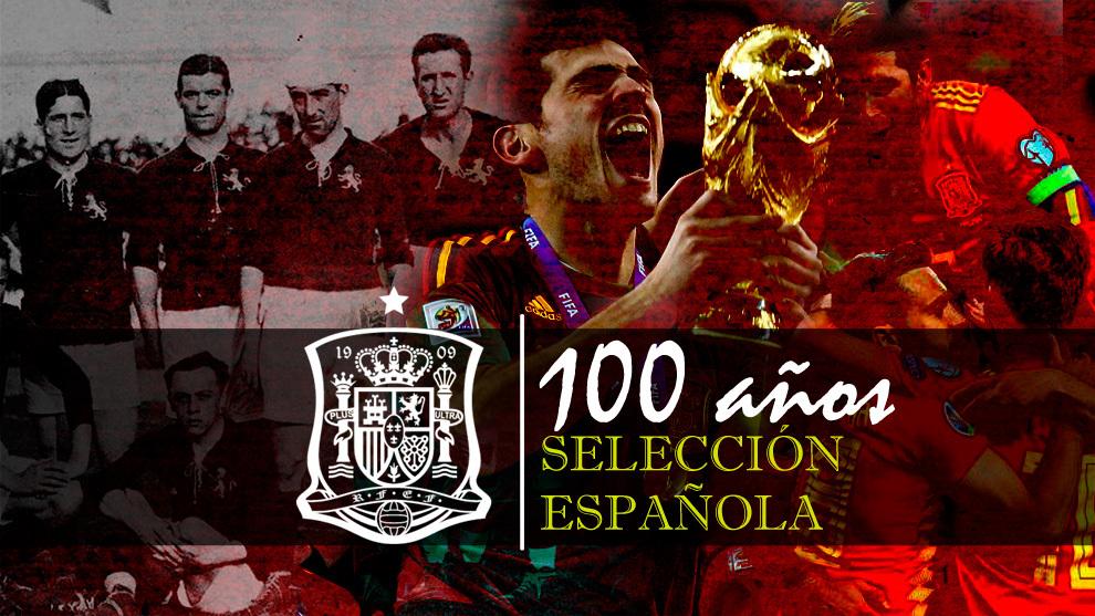 100 años de la Selección española en 100 partidos