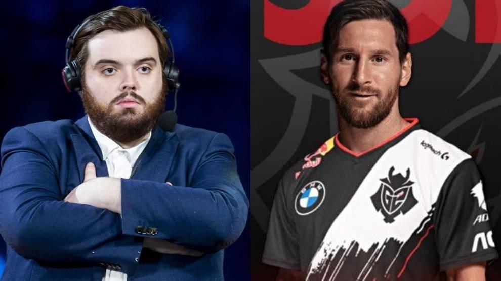 Ibai Llanos y Leo Messi