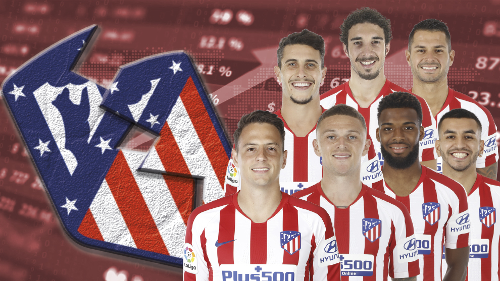 Atletico Madrid looking to shift players before signing a striker