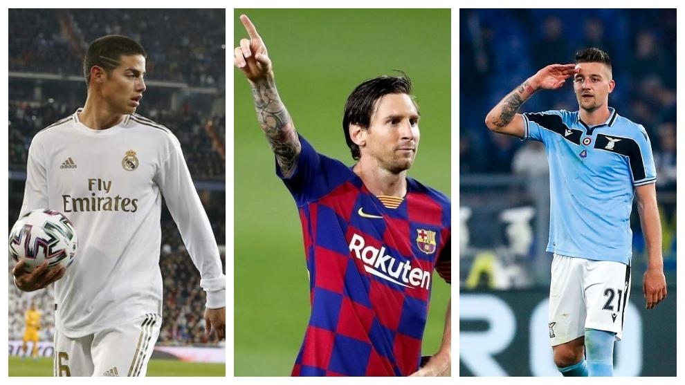 El mercado de fichajes de hoy: Ofertón por Milinkovic-Savic, el futuro de Messi, la salida de James es inminente y más