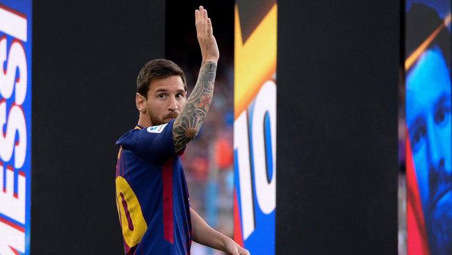Imagen de Leo Messi con el Barça
