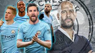 El City de Pep, 'patas arriba' si llega Messi