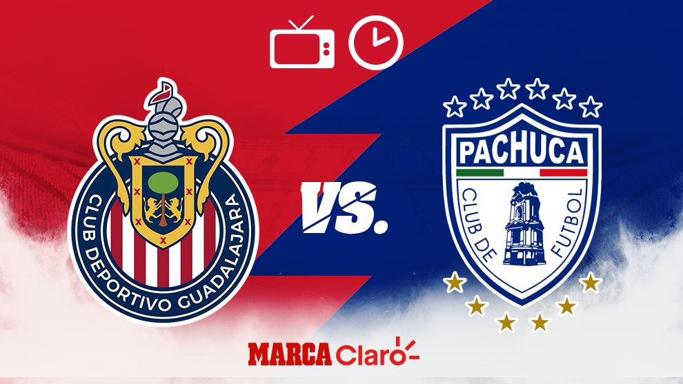 Horario y dónde ver el Chivas vs Pachuca de la Jornada 7 del Apertura...