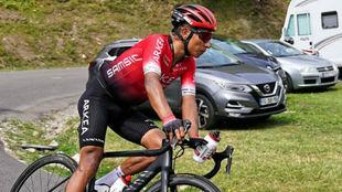 Nairo Quintana en el pasado Dauphine.