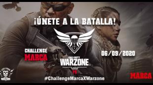 El cartel del torneo de MARCA y Activision para el Warzone