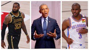 Así salvó Barack Obama los playoffs NBA