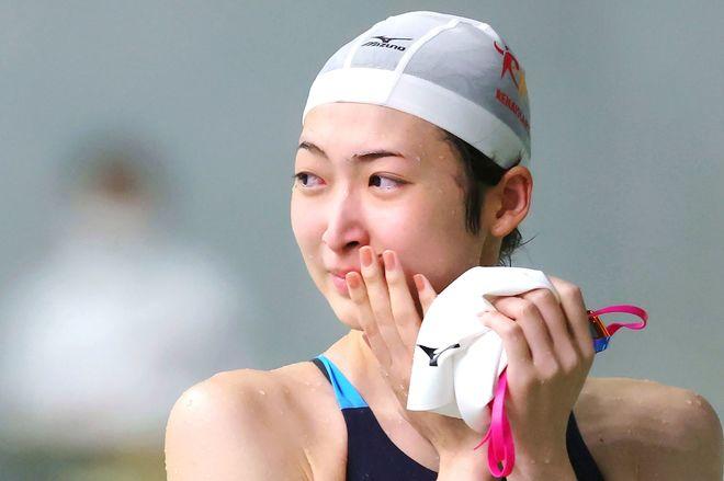 Ikee, después de nadar los 50 m libre en su reaparición