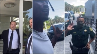 Ganó 70 millones en la NFL y la policía, con burlas, no le deja entrar en su mansión: ¿es o no es racismo?