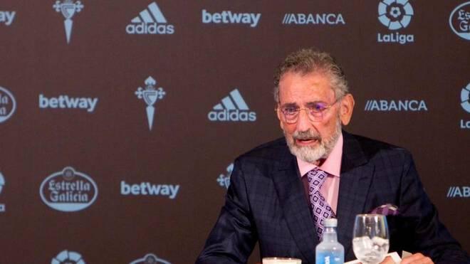 Carlos Mouriño, en una rueda de prensa.