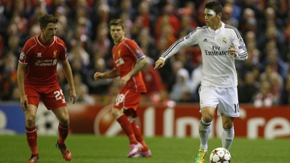 The night Ancelotti fell in love with James... in Liverpool
