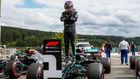 Lewis Hamilton, tras lograr la pole 93ª en la F1 en el GP de...
