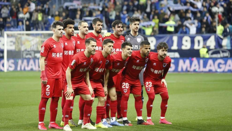Un once del Numancia de la temporada 2019-20