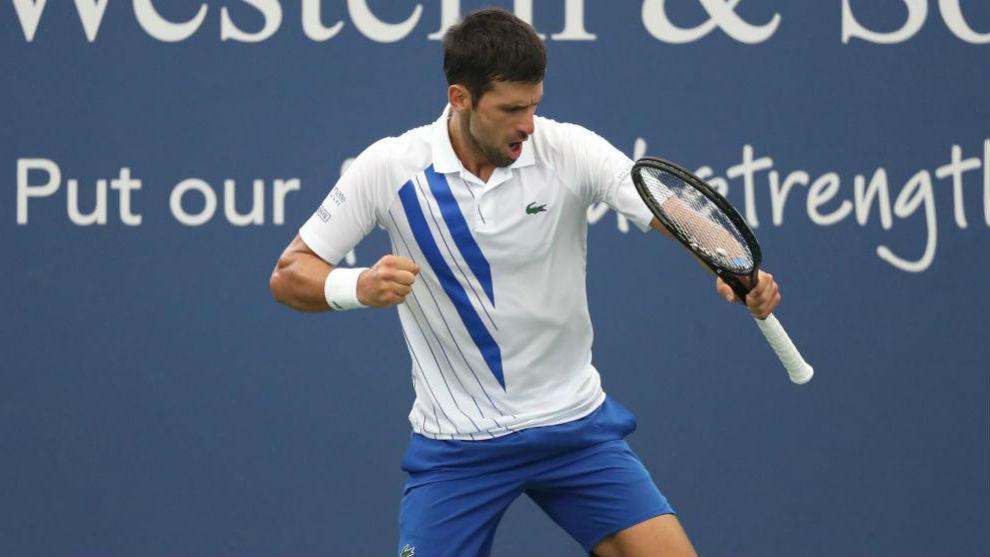 Djokovic goes into US Open as Cincinnati Masters champion