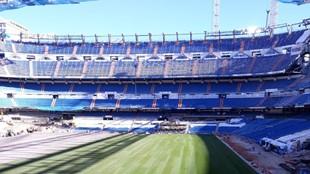 El nuevo Bernabéu ya tiene alfombra: en proceso un estadio que será una auténtica locura