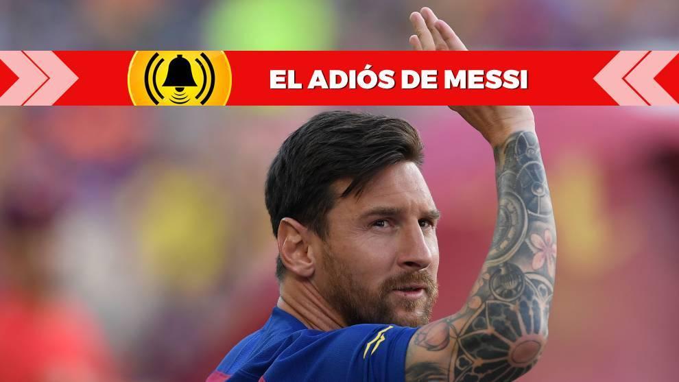 Messi, a punto de dejar el Barça
