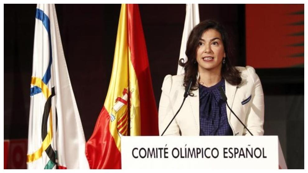 María José Rienda, durante su etapa de secretario de Estado.