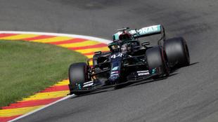 Lewis Hamilton en Spa