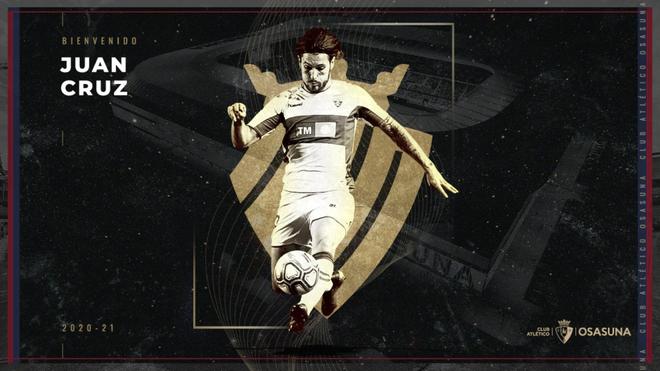 Osasuna ficha a Juan Cruz y vuelve a tener lateral izquierdo