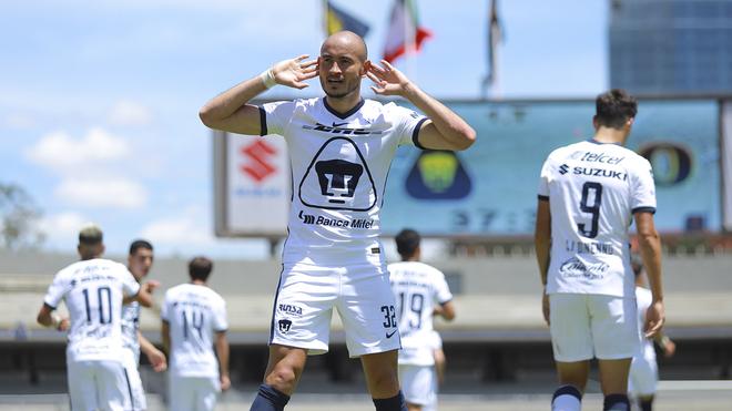 Pumas venció a Xolos en CU.