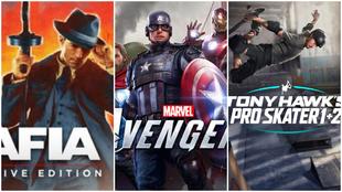 Marvel's Avengers, Tony Hawk's Pro Skater y Mafia, entre los...