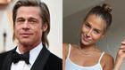 Brad Pitt y su nueva novia, Nicole Poturalski.