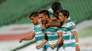 Las dos victorias de Santos en el Apertura 2020, han sido en casa.