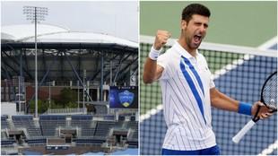 El estadio Arthur Ashe donde Djokovic buscará su cuarto título