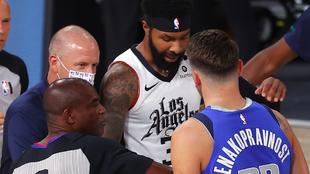 """Marcus Morris justifica sus agresiones a Doncic y los Clippers defienden a su """"instigador"""""""