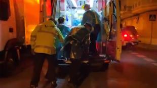 Pelea a machetazos en las calles de Madrid con varios heridos y un semiamputado