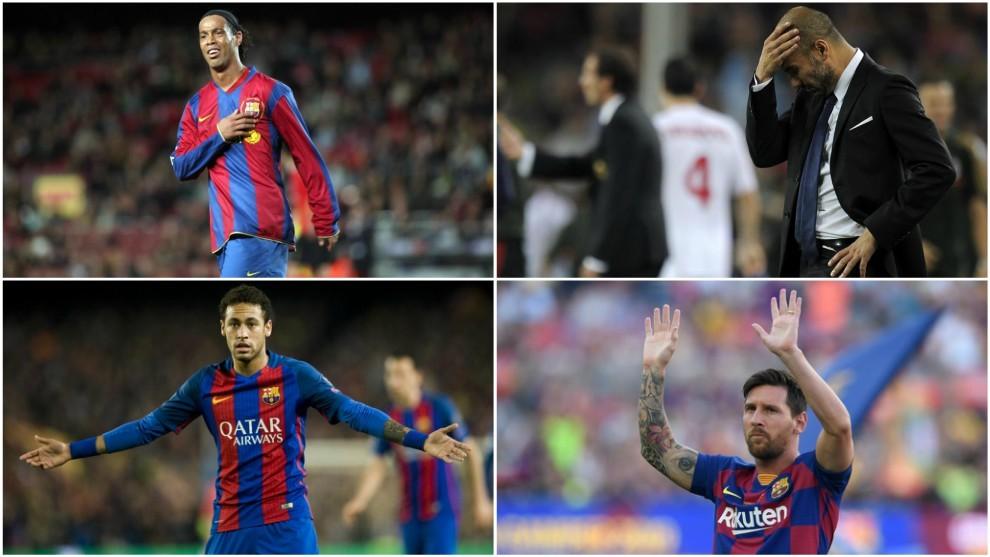 Cuatro últimas Ligas del Real Madrid, cuatro despedidas muy dolorosas en el Barcelona