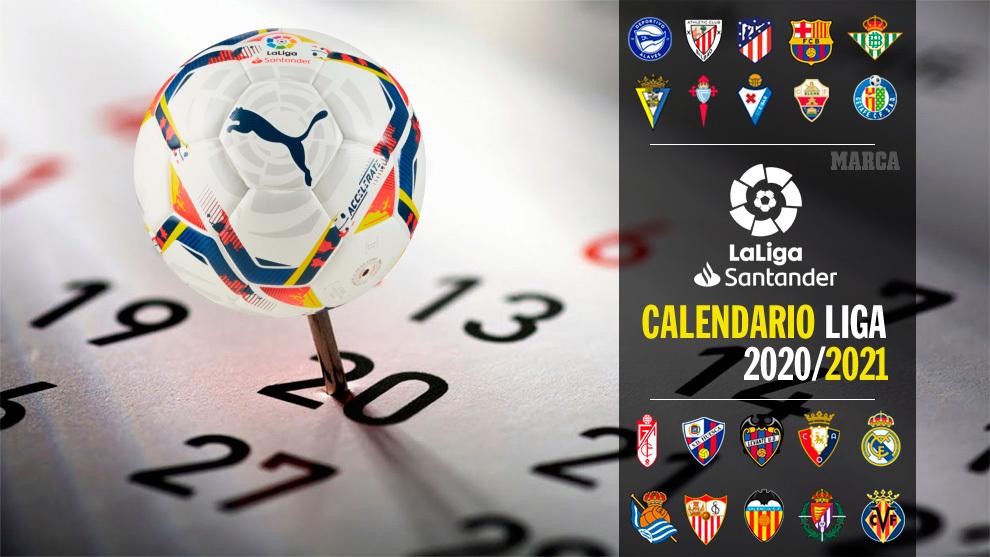 LaLiga Santander and  LaLiga SmartBank 2020/21 fixtures draw