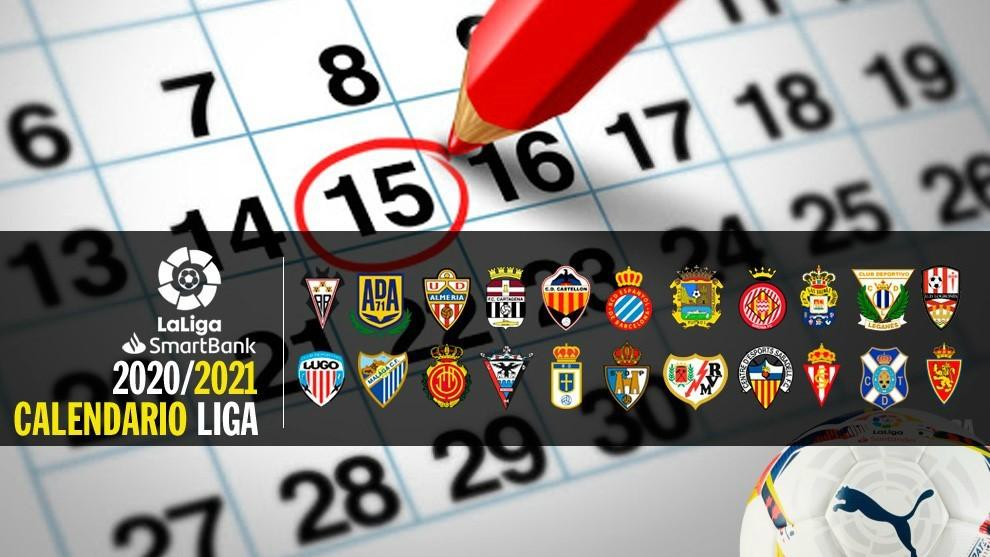 Aquí está el calendario de Segunda para la temporada 20/21
